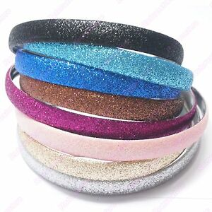 Beautiful-Glitter-Headband-Womens-Girls-Alice-Hair-Hairband-Head-Band-NEW
