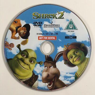 Shrek 2 UK DVD disc ONLY2004Mike Myers,Eddie Murphy,Cameron Diaz5050583014197Two