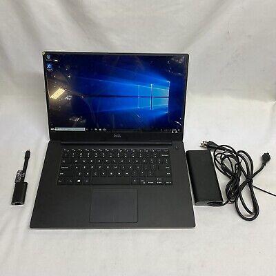 """Dell Precision 5520 Laptop 15.6"""" i5-7300HQ 16gb RAM 256gb SSD *NEW SCREEN* MINT"""