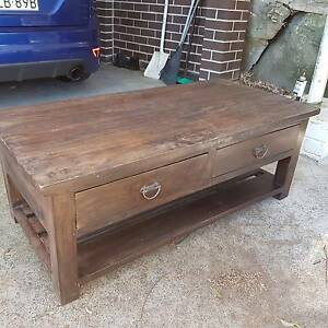 4 draw coffee table Neutral Bay North Sydney Area Preview