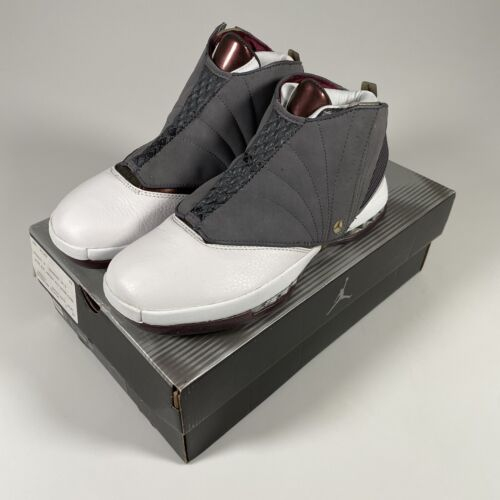 Vintage Original Nike Air Jordan 16 XVI Basketball Shoes Cherrywood Size 9.5