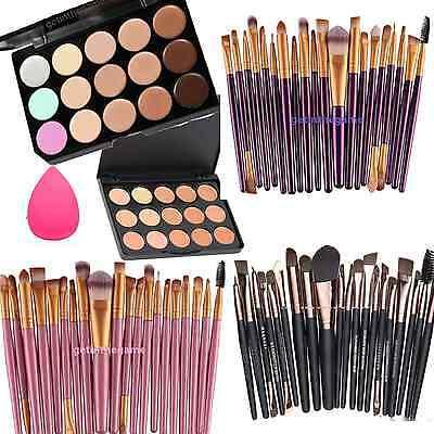 15 Colors Contour Concealer Palette Face Cream Makeup + OR SPONGE or 20 pc -