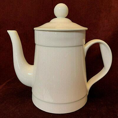 Ernest Sohn Creations Tea Coffee Pot Mid-century 'Bone Ware' With Lid Ex. Cond.