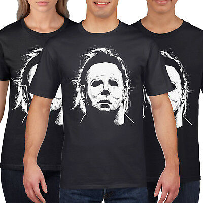 Mike Myers Mask T Shirt Halloween Fancy Dress Movie Tshirt top Scary H10