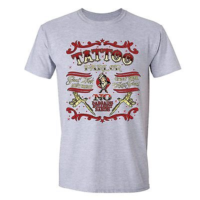Tattoo Parlor T-shirt Body Art Good Work Bargains Bullsh*t Artist