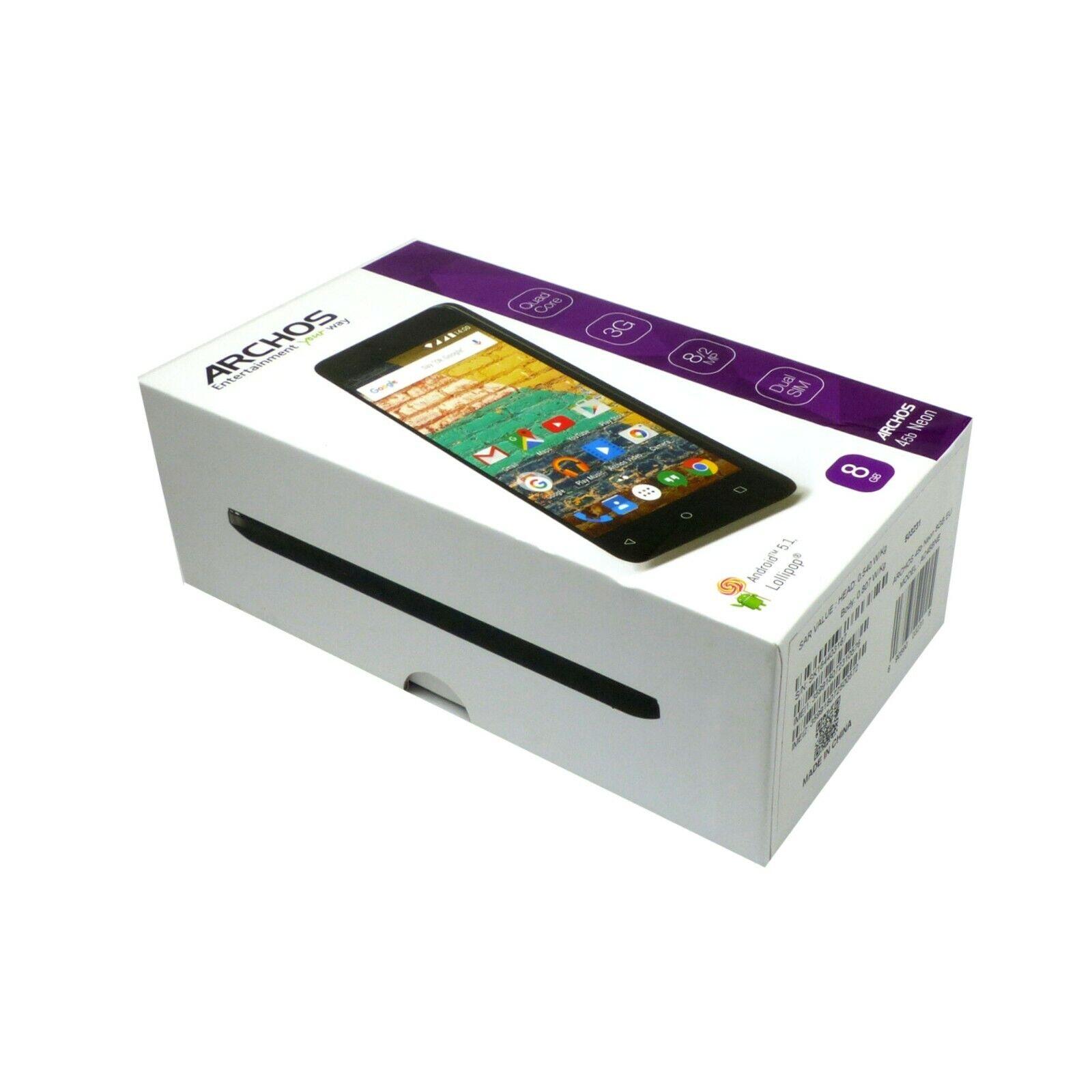 """Smartphone Archos 45b Neon Dual-SIM Handy 8GB 4,5"""""""