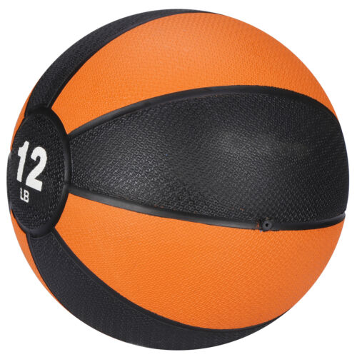 Pro Workout Weighted Easy Grip Medicine Ball Body Balance Sport Equipment 12lbs Exercise Balls