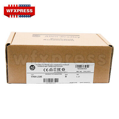 2019 New Sealed Allen-bradley 1769-l32e Ser B Compactlogix Ethernet Processor