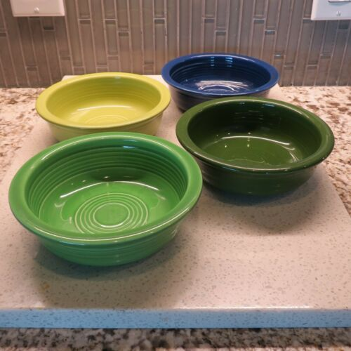 "Vintage Homer Laughlin Fiesta 5.5"" Bowls - Set of 4"