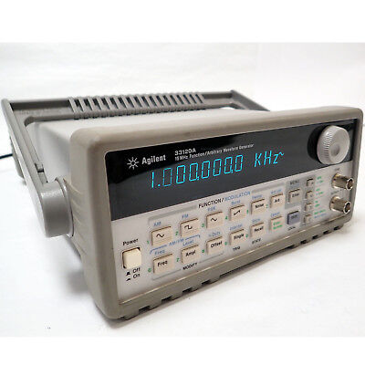 Hp Agilent 33120a 15mhz Function Arbitrary Waveform Generator Gpib Rs-232 Tested