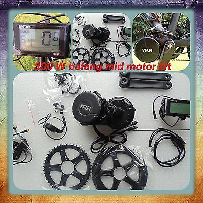 Electric Bike, 48V 500W Bafang Mid Motor Kit,mid Drive 8fun Electric Bike