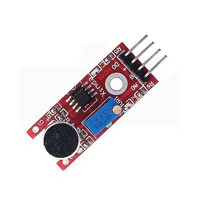 Microphone Sensor High Sensitivity 10mm Sound Detector Voice Module For Arduino