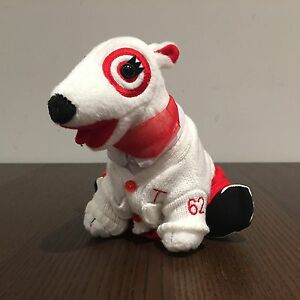 Target Bullseye Dog Plush Toy Lot