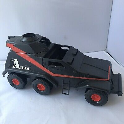 Vintage Galoob 1983 A-Team Armoured Attack Tank Car. Retro 80s Toy