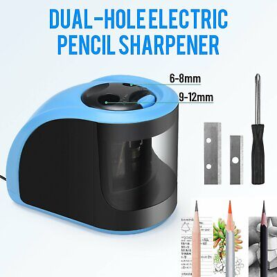 4 In 1 Electric Pencil Sharpener Automatic Touch Switch School Office Classroom