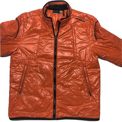 Adidas Porsche Design Sport P'5000 Jacket Orange Large Coat Authentic Soft Shell