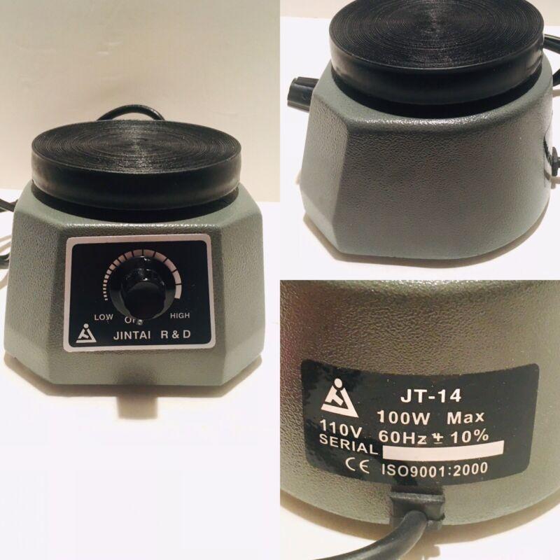 "Jintai Dental Oscillator/Vibrator; 4"" Round; Dental Lab Equipment; Gray"