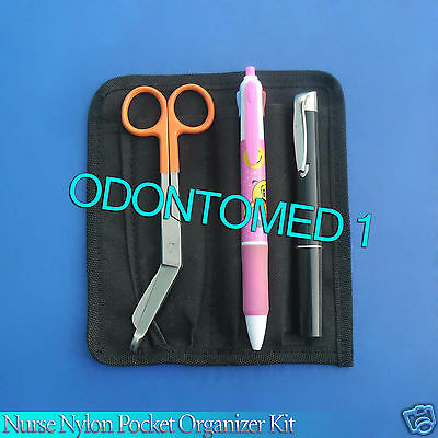 Nurse Nylon Pocket Organizer Kit - Orange Color Royal