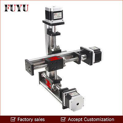 Xyz Stage Motorized Linear Stage Actuator Slide Motion Table Cnc Robotic Arm Kit
