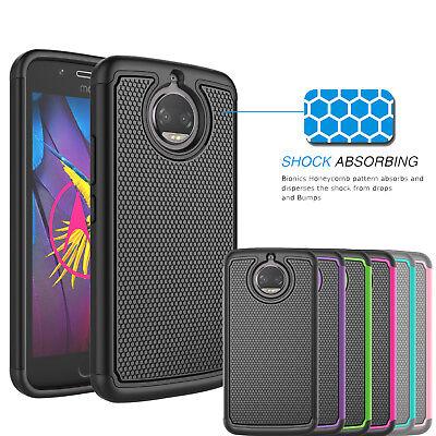 For Motorola Moto G5s Plus Phone Case Hybrid Shockproof Armor Hard Cover Case
