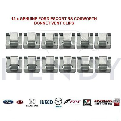 NEW GENUINE FORD ESCORT RS COSWORTH BONNET VENT RETAINING CLIP</em>...