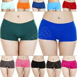 New-Womens-Ladies-Boxer-Boy-Shorts-Hot-Pants-Knickers-Underwear-Size-S-M-L-XL-8