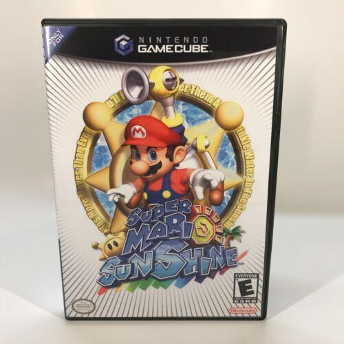 GameCube Reproduction Case - NO GAME - Super Mario Sunshine