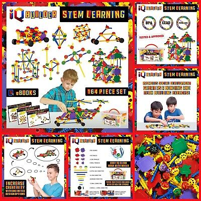 Stem Learning Toys Fun Educational Building Connectors For Kids Girls Boys Gifts