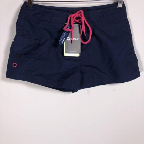Tesla Rashguard Women's Swim Trunks Beach Board Shorts Blue
