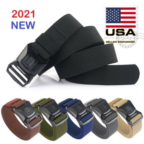 Quick Release Buckle Survival Army Military Belt Strap Tactical Rigger Waistband