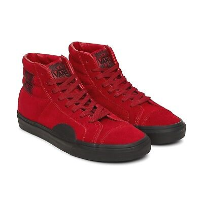 e481f559f6 Vans Style 238 (Native Suede) Red Black Skate Shoes Womens Size 8.5