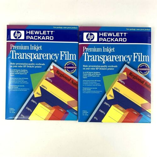 88  pcs HP Premium Ink Jet Transparency Film 50 Sheets + 38 Sheets 8.5 X 11