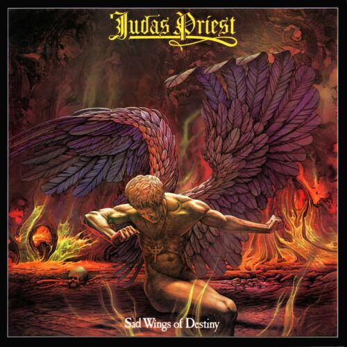 JUDAS PRIEST Sad Wings of Destiny BANNER HUGE 4X4 Ft Tapestry Fabric Poster flag