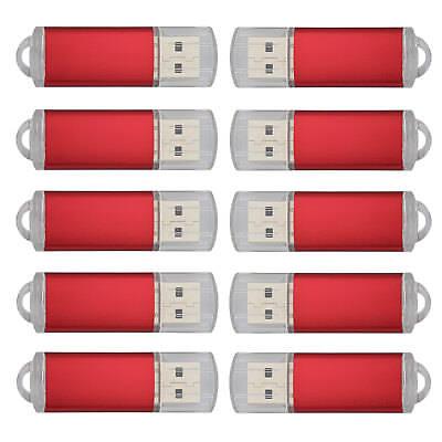 1-10Stück 1G 2G 4G 8G 16G 32GB 64GB USB 2.0 Speichermedien Stick Flash Drive Pen 10 Stück Usb
