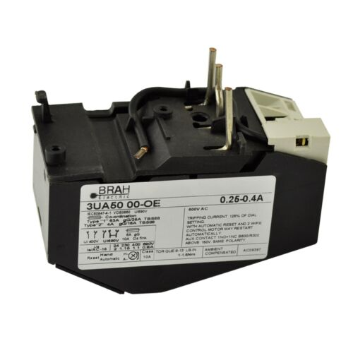 Siemens 3ua50 00 2s Solid State Overload Relay 10 00 14 50