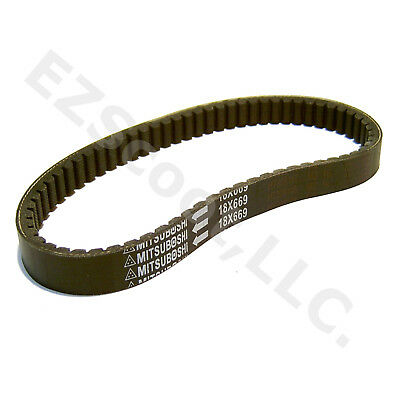 DRIVE BELT MITSUBOSHI 669-18-30 EXTRA STRONG GY6 2& 4STROKE SCOOTER VIP JCL ZNEN
