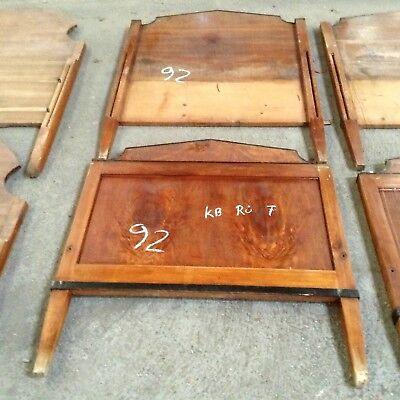 H6 Antique Bed Pieces Biedermeier Empire Möbelrestaurierung Restorer Shopfitting