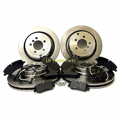 RANGE ROVER L322 3.0 TD6 & 4.4V8 NEW FRONT & REAR BRAKE DISCS & PADS SET (2006+)