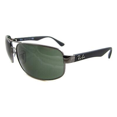 Rayban Sunglasses 3445 004 Gunmetal Green