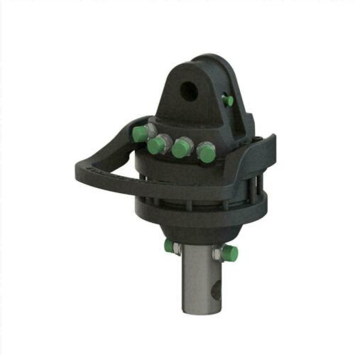 4.5 ton hydraulic rotator- Heavy Duty- 3/8 BSP fittings M16 -FREE SHIPPING-