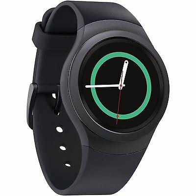 Samsung Galaxy Gear S2 SM-R730a 4g Dark Gray Smartwatch ATT...
