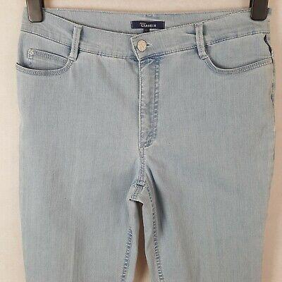 Atelier Gardeur Venus Womens Jeans Blue UK14 Cotton Denim Stretch Zipper Fly