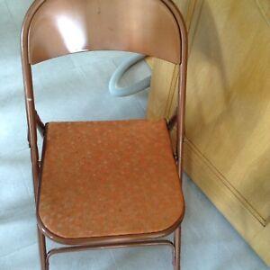Chaises pliantes  (4)