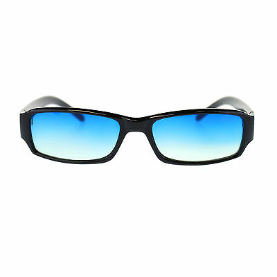 Bright Light Oceanic Color Lens Small Face Narrow Rectangular Retro (Sunglasses Narrow Face Men)