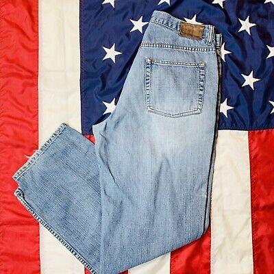 Vintage Men's CK CALVIN KLEIN Easy Fit Blue Jeans 33x30 High Waisted Mom Jeans