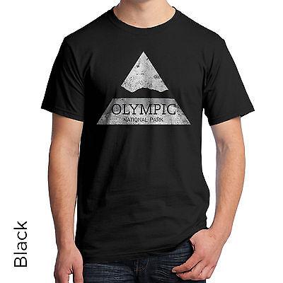 Olympic National Park T-Shirt Washington's Olympic Peninsula Port Angeles 1077m Olympic Peninsula National Park