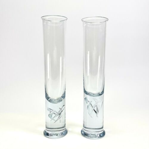 1pc Vtg MCM Holmegaard Highlife Beer Glass Cylindrical Per Lutken Barware