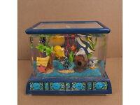 Pet Pioneer Pebbles Stone Dark Blue Aquarium Fish Tank Gravel Tiny 5 Kg 11 lb
