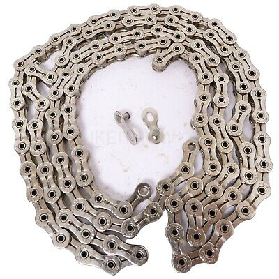 3x YBN 11 Speed Shimano Compatible Silver Chain Split Link For Road Bikes 3 Pack