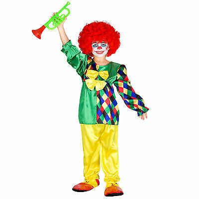Mädchenkostüm Clown Clownkostüm Kinder Mädchen Fasching Karneval Clowinin Kostüm